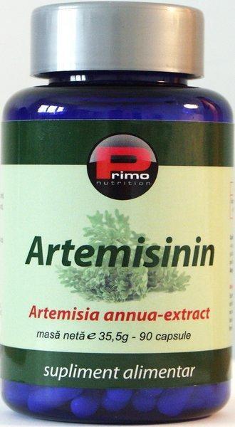 Artemisinin-extract din Artemisia annua, 100 mg, 90 caps, remediu cancer, tumori