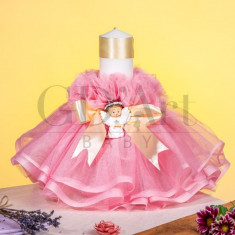 Lumanare Tulle The Little Angel Pink BB-005
