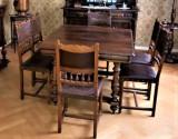 Masa stejar stil Henri II