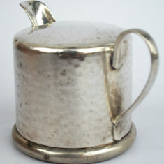 Letiera veche Art Deco alama argintata, multiple marcaje germane, DBP , HKE