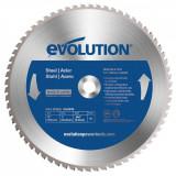 Cumpara ieftin Disc pentru fierastrau circular, taiere otel Evolution EVOM355TCT-66CS, O355 x 25.4 mm, 66 dinti