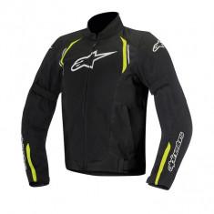 Geaca moto textil Alpinestars Ast Air culoare negru/galben-fluo marime L Cod Produs: MX_NEW 3304016155LAU
