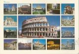 Italia, carte poştală ilustrată circulată în România, 2002