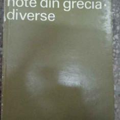 Note Din Grecia Diverse - Al. Rosetti ,290636