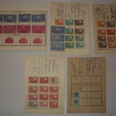 LOT 5 carnete abonat televiziune 1964 1979, cu timbre