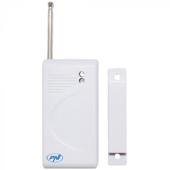 Resigilat : Contact magnetic wireless PNI A001 pentru sistem de alarma