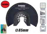 Disc segmentat de taiat beton 85mm, unealta multifunctionala, Raider