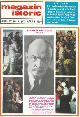 Magazin Istoric - anul 4 - nr. 4 (37) - aprilie 1970 (C200) foto