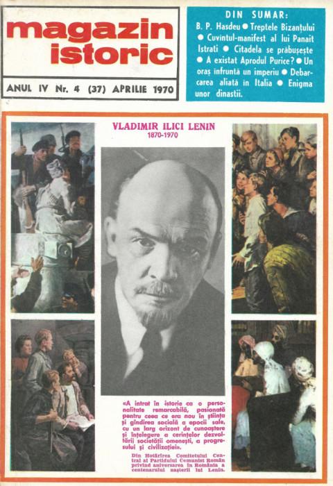 Magazin Istoric - anul 4 - nr. 4 (37) - aprilie 1970 (C200)