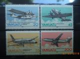 VANATU 1989 – AVIOANE, serie MNH, SD152