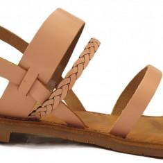 Sandale dama Kickers 708870 nude