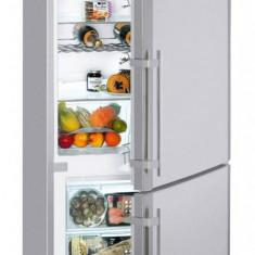 Combina frigorifica Liebherr Confort CNPesf 5156 420 Litri Clasa A++ Argintiu