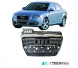 Grila radiator cu bandou cromat Audi A4 B7 2005|2006|2007
