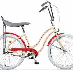 Bicicleta Pegas STRADA 2 CREM FLORI 2s