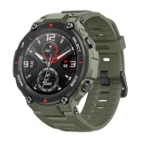 Smartwatch Amazfit T-Rex Rock, ecran 1.3 inch, Bluetooth 5.0, 390 mAh, GPS, Green