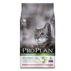 PACHET PROMO: Pro Plan Cats Sterilised - Somon - 1.5 kg + 1 pliculet 85 gr