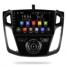 "Navigatie Gps Android 9.0 Ford Focus 2012 - 2018 , Display Touchscreen 10.1 "" , 2 GB RAM + 16 GB ROM , Internet , 4G , Aplicatii , Waze , Wi Fi , Usb"