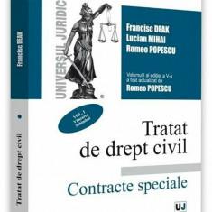 Tratat de drept civil. Contracte speciale, editia a V-a, actualizata si completata, vol. I, Vanzarea. Schimbul