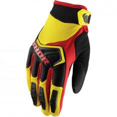 Manusi motocross Thor spectrum glove marime s galben/negru/rosu Cod Produs: MX_NEW 33304669PE