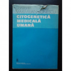 Citogenetica Medicala Umana - C. Maximilian