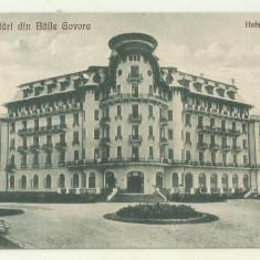 cp Baile Govora : Hotel Palace - circulata 1926, timbre