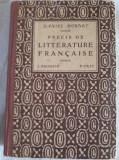DANIEL MORNET - PRECIS DE LITTERATURE FRANCAISE