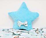 Perna Steluta minky, Paturica Fermecata, bleu cu dungi