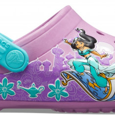 Saboți Fete casual Crocs Crocs Fun Lab Princess Jasmine Band Clog, 22.5 - 25.5, 27.5 - 30.5, 33.5, 34.5, Mov