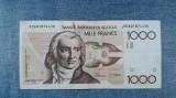 1000 Francs Belgia franci ND (1980 - 1996) / Franci / Frank