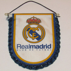 Fanion fotbal - REAL MADRID CF (Spania)