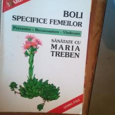 Boli specifice femeilor – Maria Treben