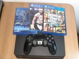 Playstation 4 de vanzare si cont de fortnite cu skinuri