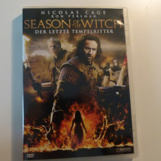 season of the witch - nicolas cage- dvd