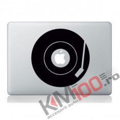 Record player turntable Laptop sticker