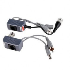 Kit video balun (video-power-video)