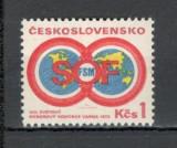 Cehoslovacia.1973 Congres mondial al Sindicatelor Varna  XC.327, Nestampilat