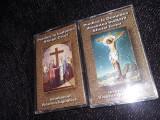 Lot 2 Casete audio Originale Bisericesti Ortodoxe PREDICA SF.CRUCI,T,GRATUIT