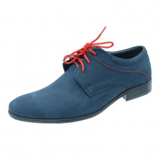 Pantofi eleganti pentru baieti Moskala 090-117, Multicolor