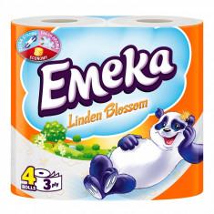 Emeka Linden Blossom Hartie igienica 3 straturi 4 role
