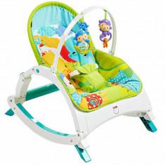 Centru de activitati Fisher-Price Leagan pentru copii mici si bebelusi, Fisher Price