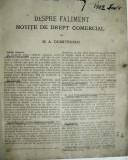 carte veche drept civil 1902; contine 80 pagini