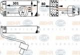 Vaporizator / Evaporator aer conditionat RENAULT CLIO I (B/C57, 5/357) (1990 - 1998) HELLA 8FV 351 211-601