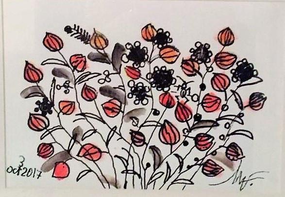 "Pictura Tablou Viorel Marginean ""Flori"""