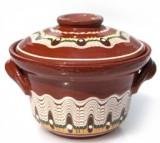 Oala ceramica,lut CAMBANCA 500ml TROEANSKA SARKA Devon