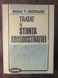 TRATAT DE STIINTA ADMINISTRATIEI-MIHAI OROVEANU