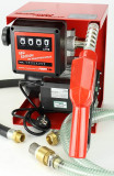 Pompa transfer motorina cu sistem contorizare