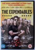 The Expendables – Arnold Schwarzenegger, S.Stallone, M. Rourke, Jet Li, B.Willis, DVD, Engleza