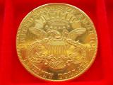 MONEDA AUR  20 dollars 1904   AUR - 900 - ( 21,6 K ), America Centrala si de Sud