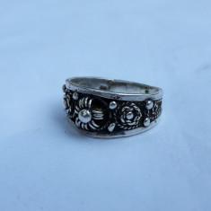 INEL argint TRIBAL vintage VECHI de efect SPLENDID patina frumoasa RAR