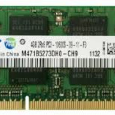Memorie laptop sodimm 4 gb 1333 / 1600  Samsung / Hynix , garantie